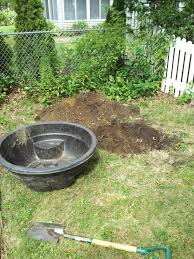 installing a preformed garden pond suburban self reliance