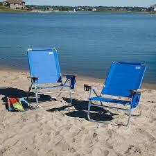 Beach Chairs At Walmart Rio Blue Beach Bum Beach Chair Set Of 2 Walmart Com