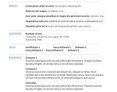 Microsoft Word Resume Template 2010 Word Resume Template 2010 8 Nardellidesign Com