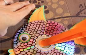 fun summer crafts for kids how to make hanging cd fish fun
