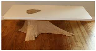 how to make a tree stump table tree trunk coffee table shapes home town bowie ideas coffee