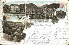 Ak Ansichtskarte Friedrichroda Blick Vom Herzogsweg Friedrichsroda Schloss Reinhardsbrunn Der Gottlob Blick Vom