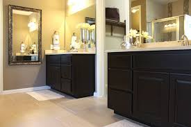 master bath walk through shower amp separate vanities traditional download