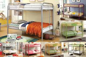 Bunk Beds Albuquerque Painted Metal Bunk Beds American Home Furniture And Mattress