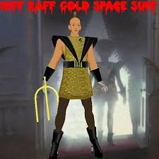 Riff Raff Halloween Costume Marketplace Riff Raff Gold Space Suit