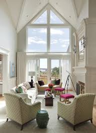daybed living room contemporary with balcony semi