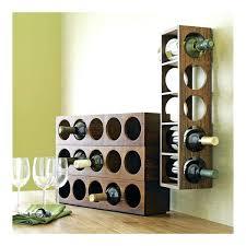 wall wine rack wood mounted shelves ellington and glass holder