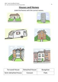 Types Of Houses Pictures Houses And Homes Labelling By Rodders33 Teaching Resources Tes