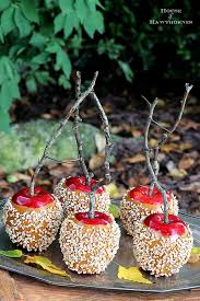 How To Decorate Your House For Fall - making faux caramel apples for fall decor house of hawthornes