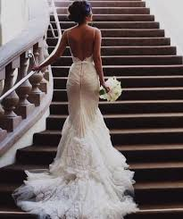backless wedding dresses lace backless wedding dress naf dresses