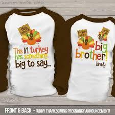 boys thanksgiving shirt li l turkey big pregnancy
