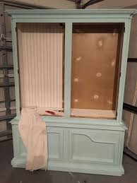 dining room china cabinet makeover hometalk