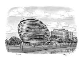 new mayors office city hall original drawings prints and
