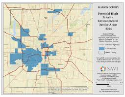 Purdue University Map Environmental Justice In Indianapolis Hoosier Environmental Council