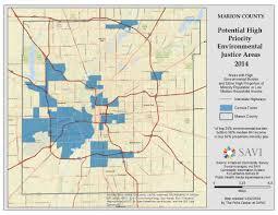 Map Of Indianapolis Indiana Environmental Justice In Indianapolis Hoosier Environmental Council