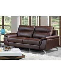 ls that hang over couch amazing deal on cortesi home chicago leather sofa ch ls9532
