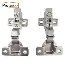 soft closing kitchen cabinet hinges probrico 1 pcs soft close kitchen cabinet hinge chr073hc concealed