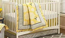 Grey And Yellow Crib Bedding Yellow And Gray Baby Crib Bedding Yellow And Gray Nursery Decor