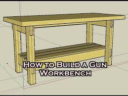 Simple Work Bench How To Build A Workbench Watch The Video Here