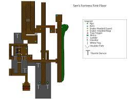 Dark Souls Map Sen U0027s Fortress Dark Souls Wiki
