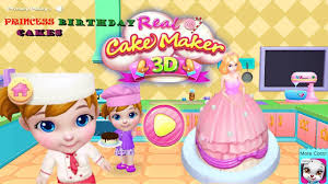 cooking games for kids to play maker princess birthday cakes fun