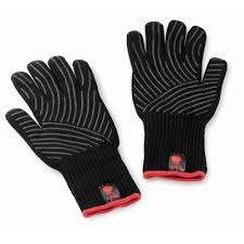 weber black premium barbecue glove set large x large 6535 the