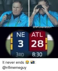 Meme Nfl - nfl meme gu ne atl 3 28 3rd 830 it never ends meme on me me