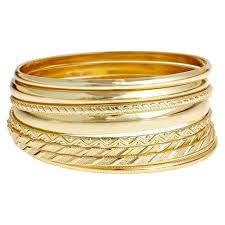 gold bracelet set images Bangle bracelet set gold target