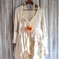 romantic country chic sweater tunic from true rebel clothing
