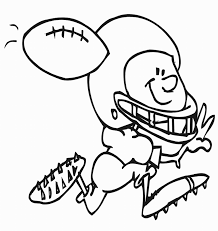 nfl sports football coloring pages for kids womanmate com