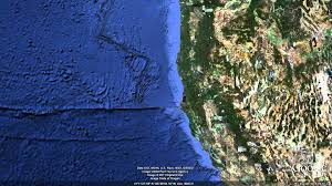 Google Map Oregon by New Seafloor In Google Earth Tour Youtube
