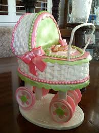 baby carriage cake baby carriage cake with sugar cookie wheels cakes