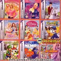 gba ds games girls