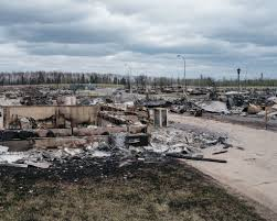 Where Is Fort Mcmurray On A Map Of Canada by On The Ravaged Trail Of Canada U0027s Monster Fire