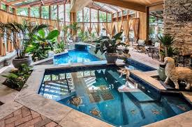 Small Backyard Swimming Pool Designs Appealing Home Swimming Pool Indoor Design Inspiration Feat