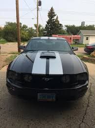 2007 Mustang Gt Black Black Ford Mustang In North Dakota For Sale Used Cars On