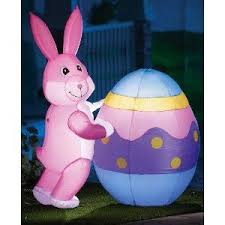 Easter Decorations Lights by Easter Inflatables Lights And Outside Yard Decorations Infobarrel