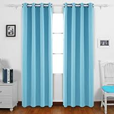 Amazon Thermal Drapes Amazon Com Deconovo Blackout Drapes Thermal Inshualted Room