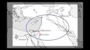 Middle East Physical Map by Ancient Middle East Near East Map Geography History Youtube