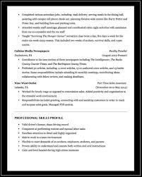 Meeting Deadlines Resume Professional And Acting Résumé