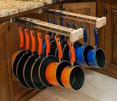 Kitchen Cabinets Storage Solutions Sliding Pot Holder This Makes So Much More Sense Genius