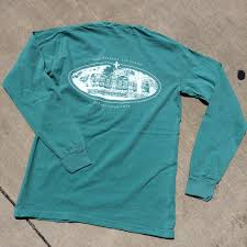 Long Sleeve Comfort Colors Tulane Gibson Hall Comfort Colors Long Sleeve Pocket U2013 Campus