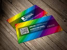 25 rainbow business card templates free u0026 premium download