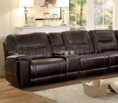 Reclining Sectional Sofas by Motion Sectional Sofa 8490 8lrrr By Homelegance