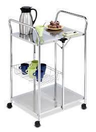 Kitchen Utility Tables - amazon com honey can do crt 01703 chrome folding utility table