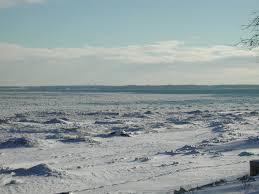 frozen waves winter in milwaukee