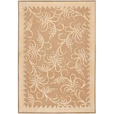 Hand Loomed Rug Safavieh Martha Stewart 710 X 112 Tufted Hand Loomed Rug In Taupe