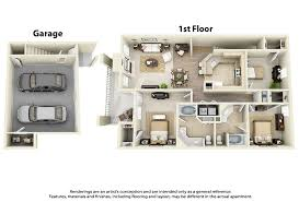 here u0027s a really different looking 3d floor plan for a 3 bedroom 2