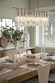 Dining Table Chandelier Contemporary Dining Room With Chandelier By Elite Staging And