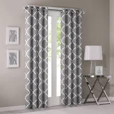 amazon com madison park saratoga single window curtain grey